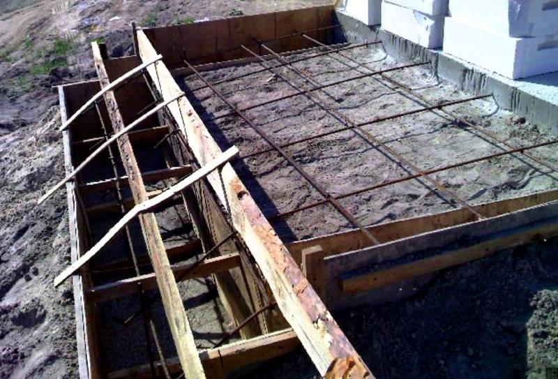 Опалубка для заливки бетона