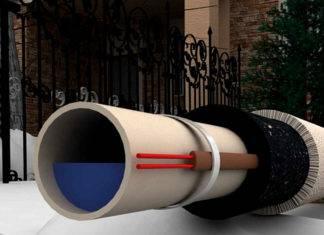 Cаморегулирующий греющий кабель для водопровода
