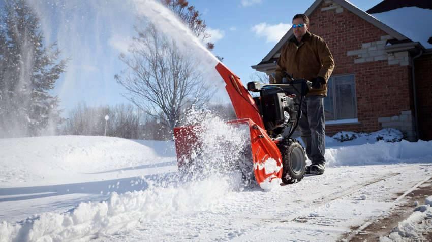 Снегоуборочная техника для дома и дачи
