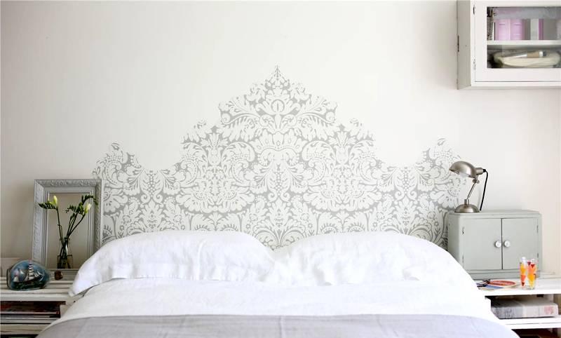 Изображение в спальной комнате