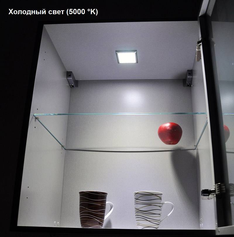 Внутренняя подсветка шкафа