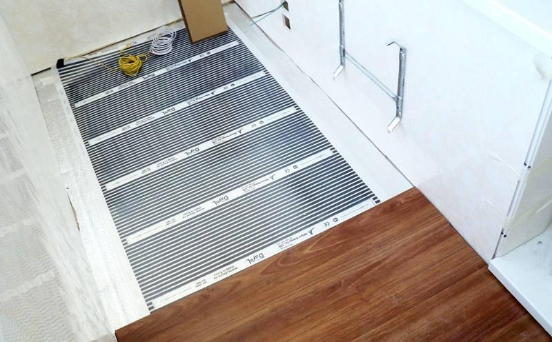 Применение инфракрасной пленки поможет сохранить высоту потолков