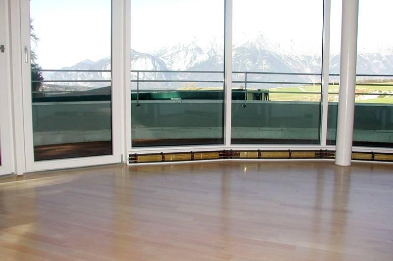 Подобную систему можно использовать на балконе или веранде