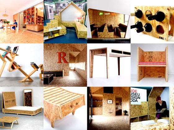 Мебель и другие идеи применения плит