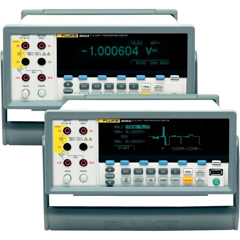 Мультиметр с платиновым детектором температуры Fluke серии 8846