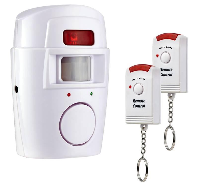 ИК детекторы устанавливают в системах охранной сигнализации