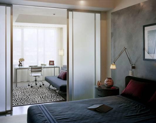 Перегородка спальня-кабинет