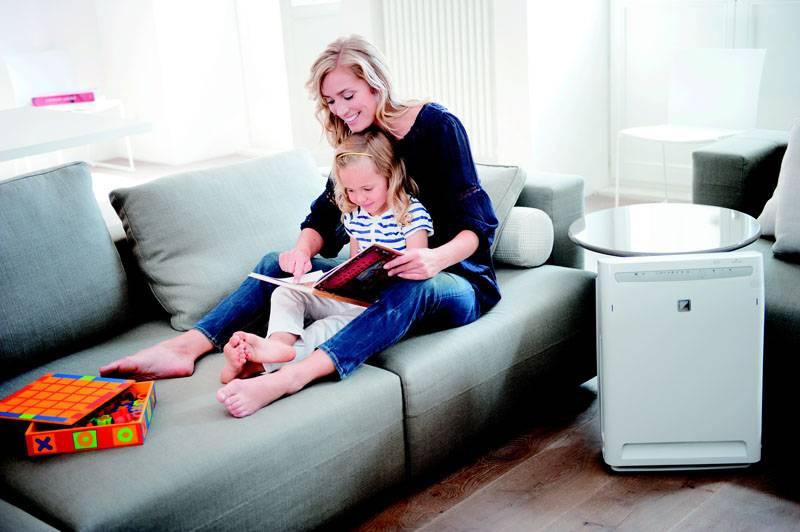 Прибор позволяет создать благоприятный микроклимат в квартире