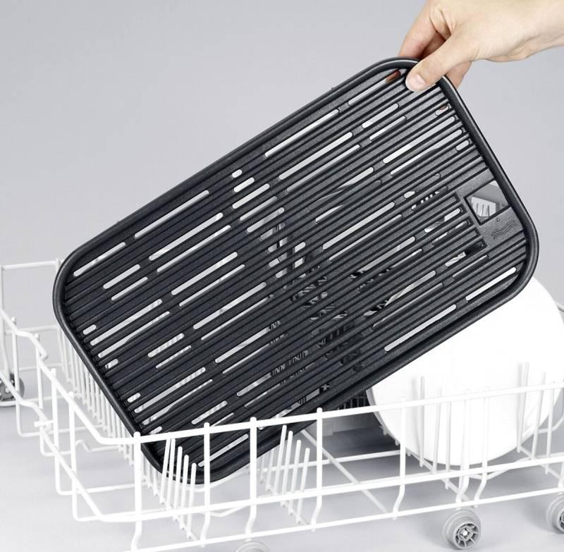Его можно снять и очистить в посудомоечной машине