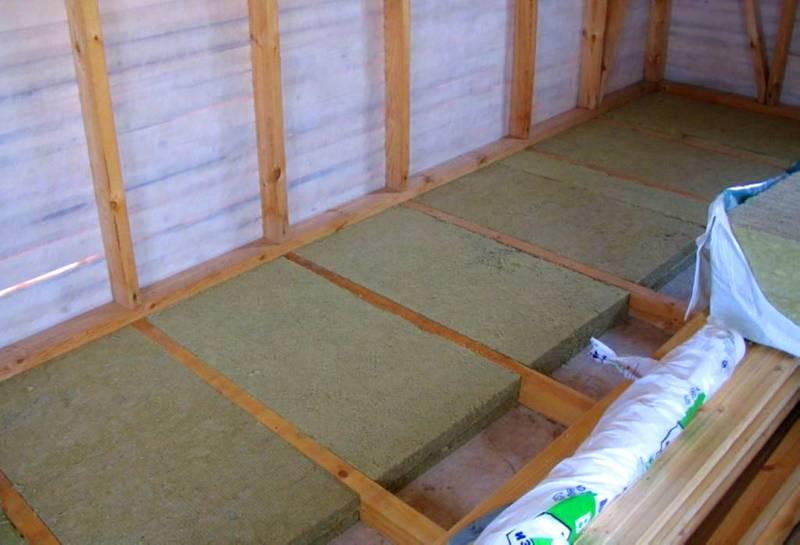 Маты из базальтовой ваты защищают пленкой от влаги