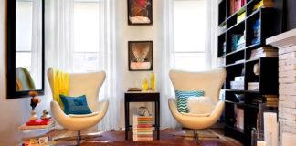 Кресла небольших размеров для маленьких комнат