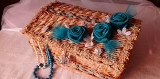 Плетение из газетных трубочек: новые идеи