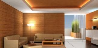 Потолки для гостиной из гипсокартона: фото