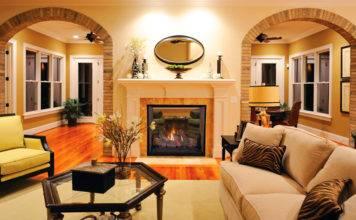 Дизайн интерьера: межкомнатные арки из гипсокартона, фото