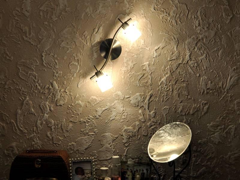 Фактурная штукатурка для стен: видео, фото