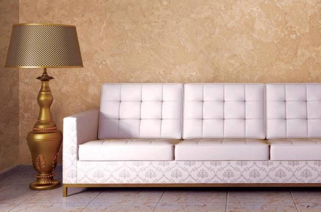 Цвет состава можно подобрать в точном соответствии с параметрами предметов обстановки комнаты