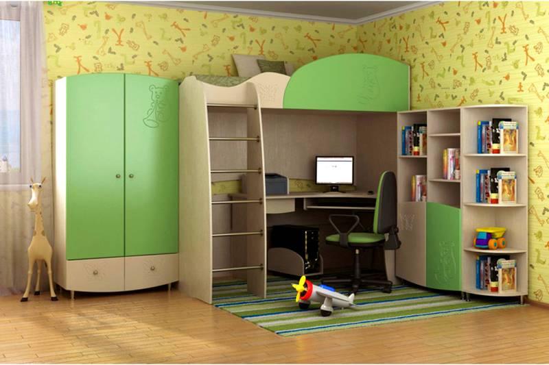 В детскую комнату следует подобрать плиты, изготовленные из отечественного сырья по современным технологиям, обеспечивающим экологическую безопасность