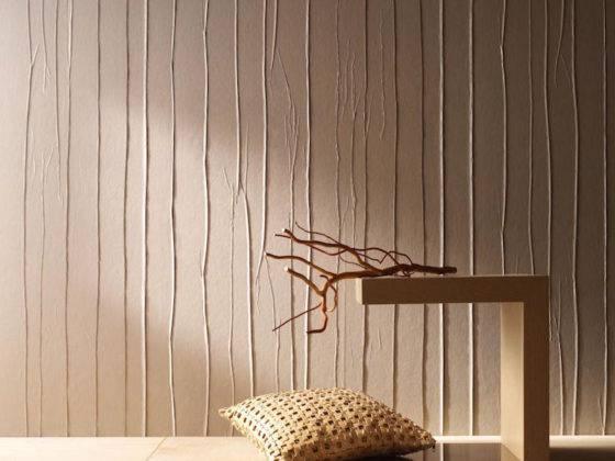 Вертикальные линии «увеличивают» высоту стен