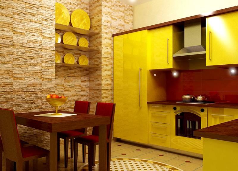 Желтый по силе энергетического воздействия лишь немного уступает красному