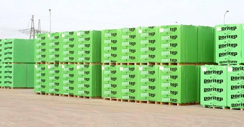 Для перевозки блоки пакуют в полиэтиленовую плёнку и устанавливают на поддоны