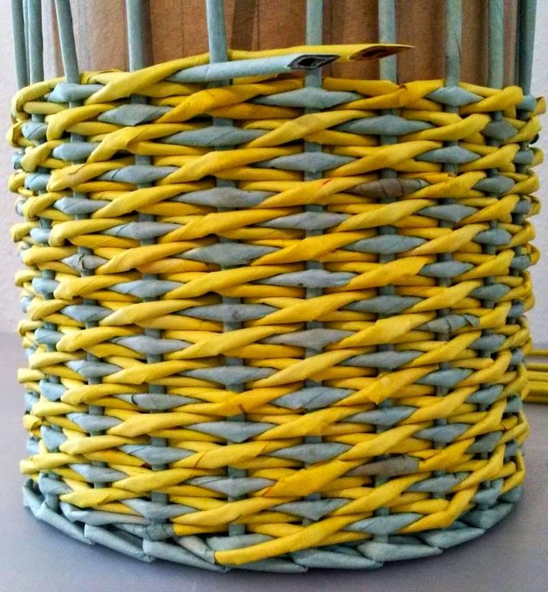 Плетение «веревочка»