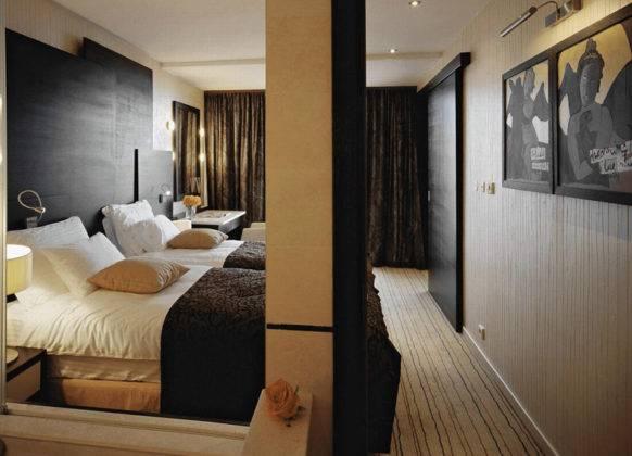 Качественная отделка спальни создает атмосферу уюта и покоя