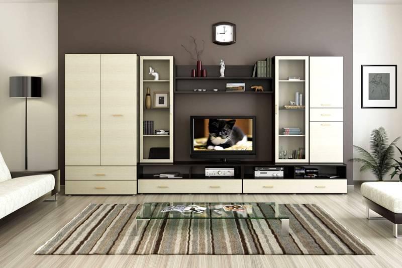 Современная мебель многофункциональна и имеет вместительные ящики