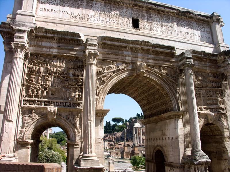 Один из античных примеров времен древнего Рима