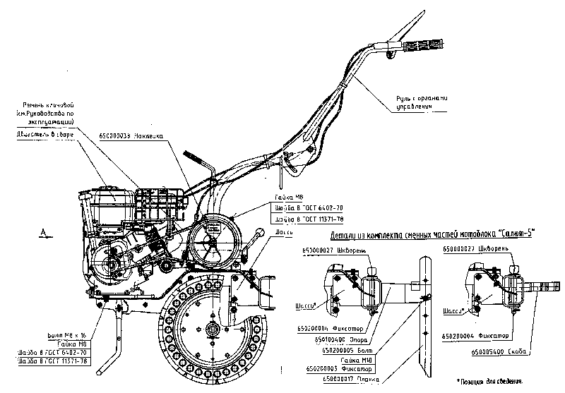 Схема устройства агрегата