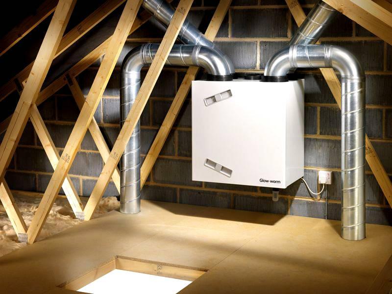 Централизованные системы вентиляции с рекуперацией тепла удобнее устанавливать на стадии строительства здания, или в процессе капитального ремонта