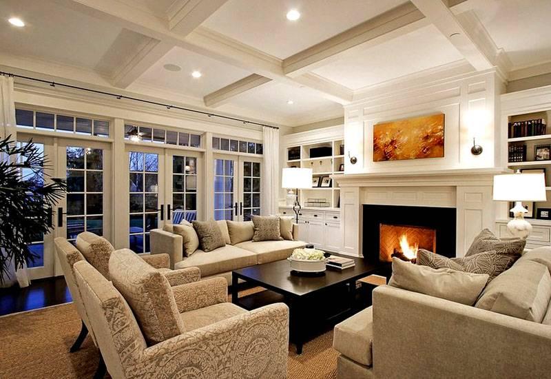 Фото дизайн гостинной в доме