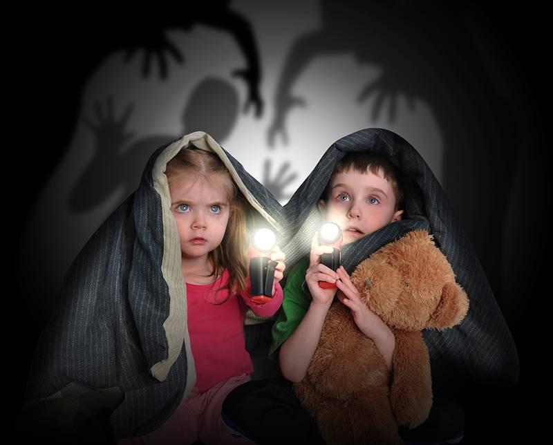 Самая распространённая проблема гардеробной комнаты в детской – страхи её маленького хозяина