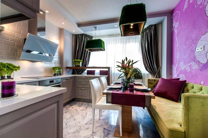 Интерьер кухни 12 кв. метров: фото классического дизайна с добавлением современных элементов