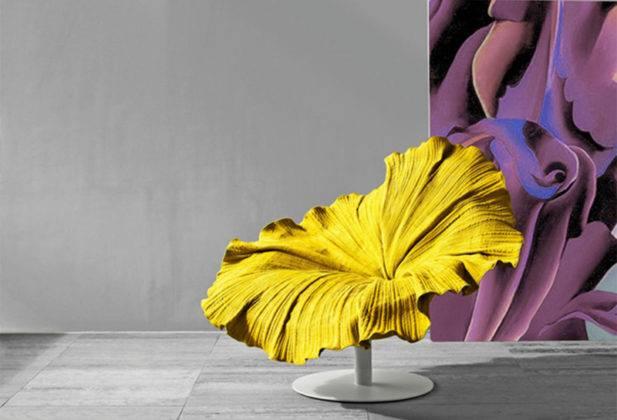 Кресло в форме цветка