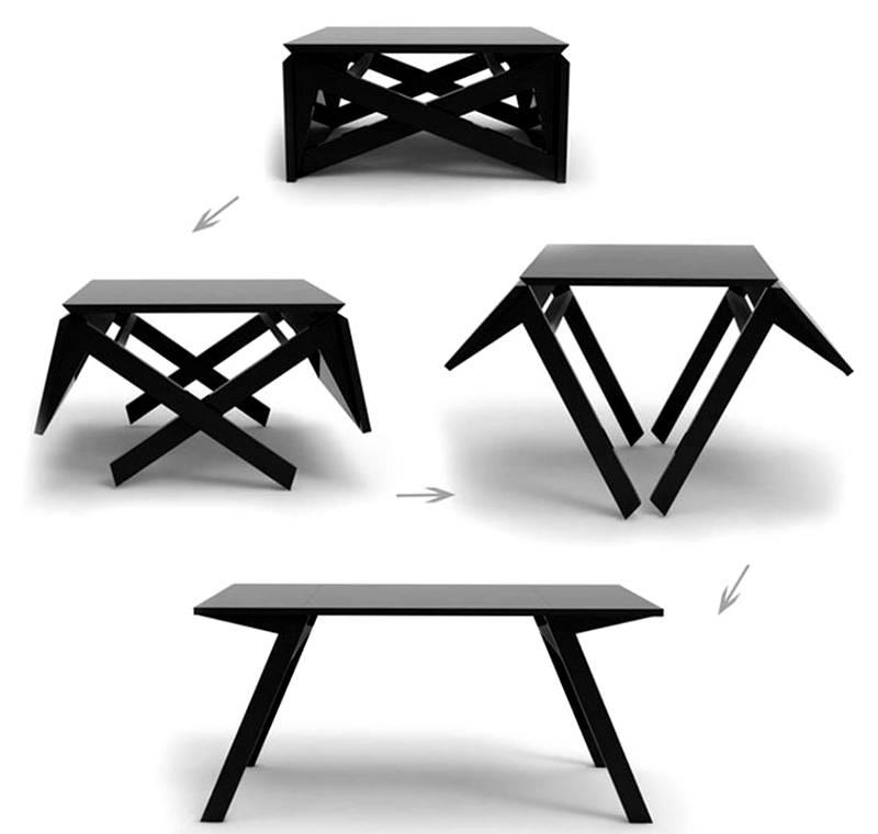 Подобный стол не слишком сложно изготовить своими руками