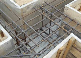 Вязка арматуры под ленточный фундамент