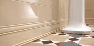 Плинтус для ванной