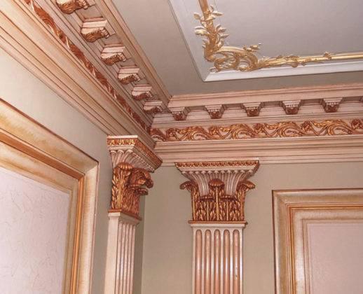 Имперский стиль: сложные элементы декора