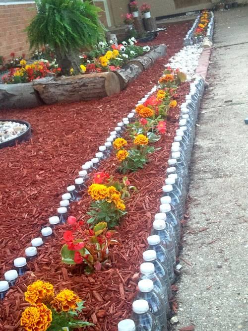 Бордюрная лента для грядок – оригинальное оформление огорода и клумб