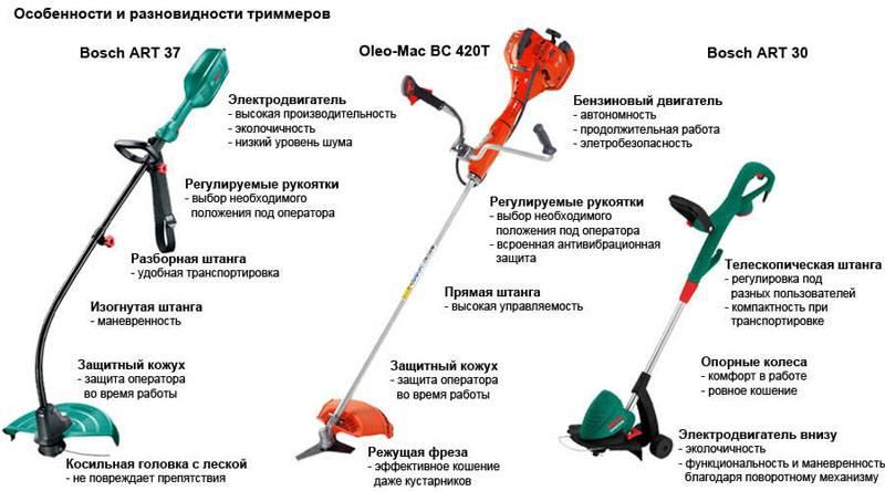 Производители электрических триммеров предлагают потенциальным пользователям разные варианты оснащения