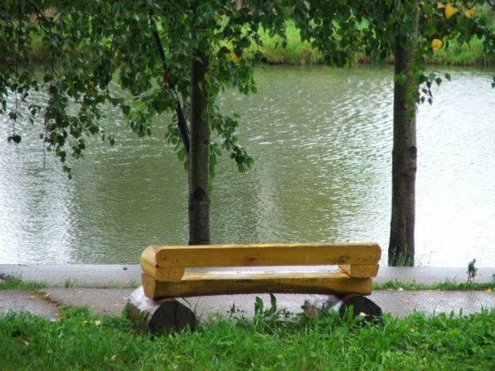 Приятно отдохнуть и посмотреть на гладь воды