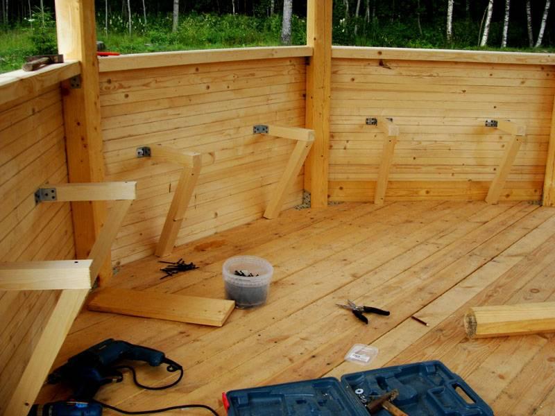Своими руками не слишком сложно работать со стандартными деревянными изделиями, крепежными деталями