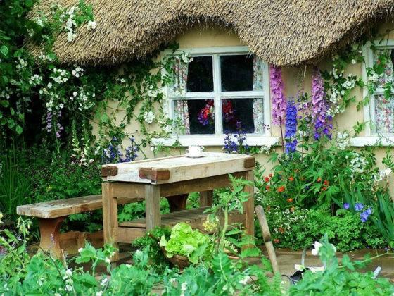 Сады в стиле Англии