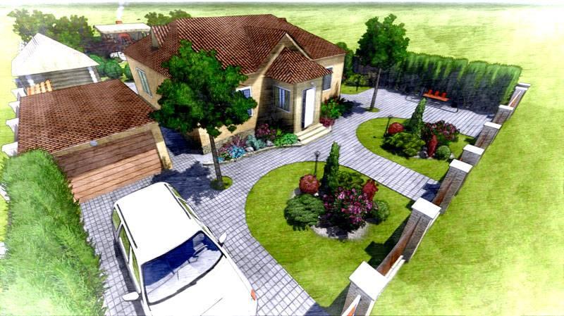 Для правильного обустройства маленького двора планирование должно быть особенно тщательным