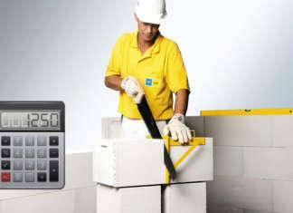 Калькулятор газобетонных блоков на дом