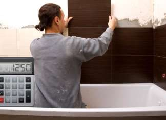 Калькулятор плитки для ванной