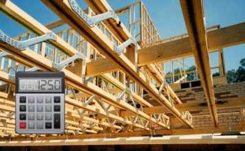 Расчет деревянных балок перекрытий: онлайн калькулятор