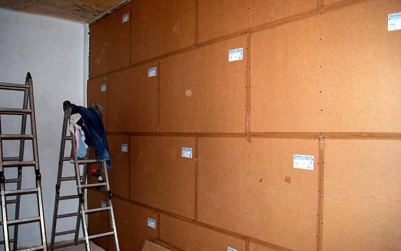 Отделка стен специальными панелями