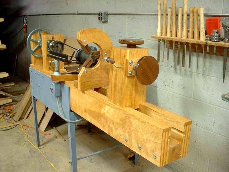 Вариант оборудования для работы с древесиной
