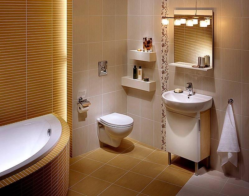 Эргономичный вариант для небольшого помещения
